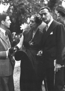 Elsa Schiaparelli and Salvador Dalí